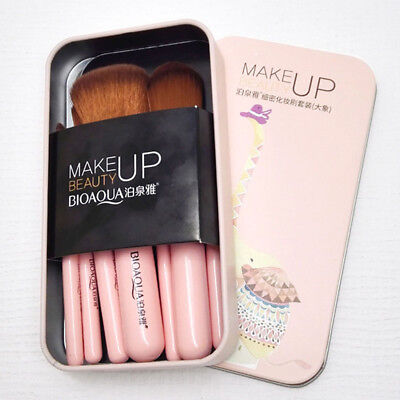 BIOAQUA 7Pcs Makeup Brushes Set Eye Lip Face Foundation Brush Kit Soft Fiber