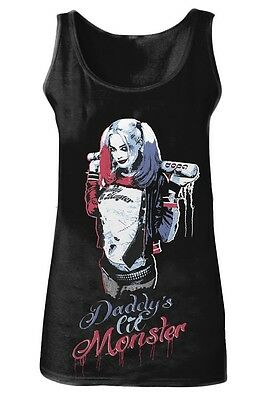Tank top Suicide Squad Harley Quinn Daddy's Little Monster Women Tank top