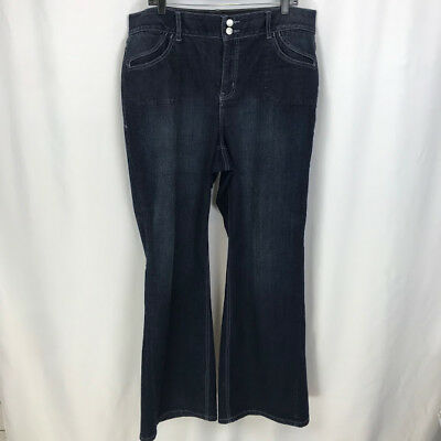 Lane Bryant Tighter Tummy Technology Straight Leg Jeans Womens Plus Size 18 NWT