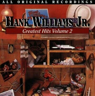 Hank Jr. Williams - Vol. 2-Greatest Hits [CD New]