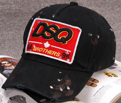 New Dsquared Distressed Brothers DSQ2 Dsquared2 Baseball Cap FREE Ship 9b3d87fabfa0