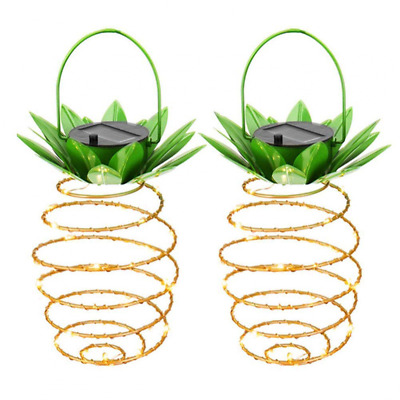 Solar Lights,MiddleWay 2 Pack Portable Hanging Lantern Outdoor Decor NEW US