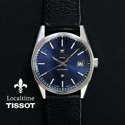 60's Boxed TISSOT (Swiss) 'Seastar' Ref. 44541-1X Dress Watch Tissot Cal. 784-2