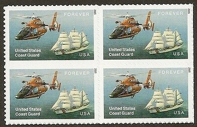 US 5008 Coast Guard forever block MNH 2015