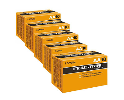 50x Duracell AA Batteries, Industrial, Cells, Double A, Cheap Batteries, Normal