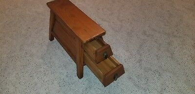 Antique 19th Century Chinese Bench/Stool with Opiate Drawer