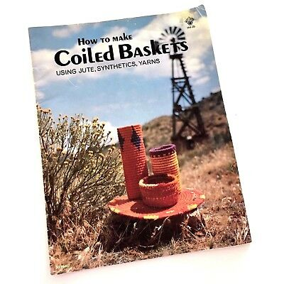 How to Make Coiled Baskets Using Jute Synthetics Yarns George Smith