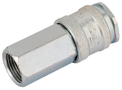 "Euro Coupling Female Thread 3/8"" Bsp Parallel (Sold Loose) Draper 54408"