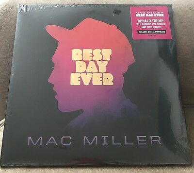 Mac Miller - Best Day Ever Vinyl LP Record Sealed New 1st Edition Pressing