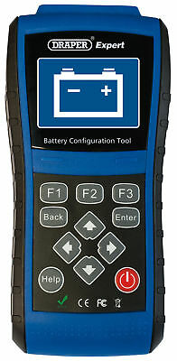 Draper Expert Vehicle Battery Configuration Tool For Stop / Start &Amp; Rbs