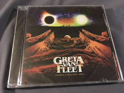 GRETA VAN FLEET - Anthem Of The Peaceful Army CD NEW! SEALED! FAST! Awesome!