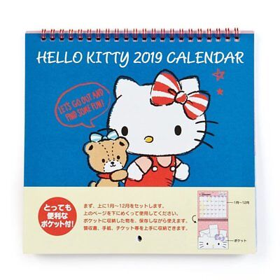Hello Kitty Sanrio Date Book 2019 Pocket Schedule Planner Japan New