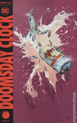 Doomsday Clock (DC) #3A 2018 Frank Variant NM Stock Image
