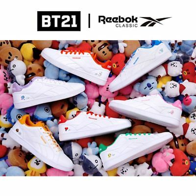 2f6ded49398 BTS BT21 OfficiaI Authentic Goods Reebok Classic ROYAL COMPLETE2LCS Shoes