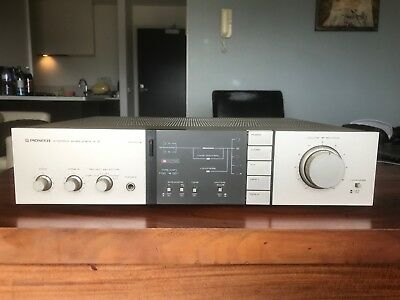A-5 Vintage Pioneer Champagne Gold Series Stereo Amplifier 250W