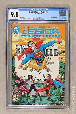 Legion of Super-Heroes (3rd Series) #37 1987 CGC 9.8 1497152011