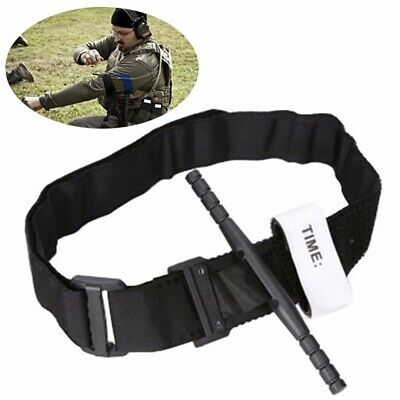 Outdoor First Aid Tourniquet Medical Emergency Buckle Quick Slow Release Strap
