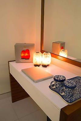 Pack of 2 Aroma Himalayan Salt Lamp With Dimmer & Small Plate To Diffuse Ess Oil