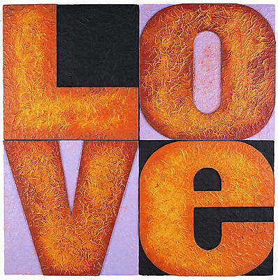 Original Modern Gift Typographic Giclee Wall Art Open Edition Print Home Love