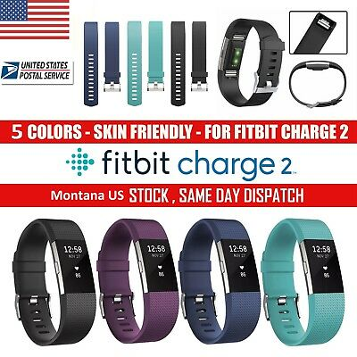 Fitbit Charge 2 Band Replacement Wristband Watch Strap Bracelet Small-Large US