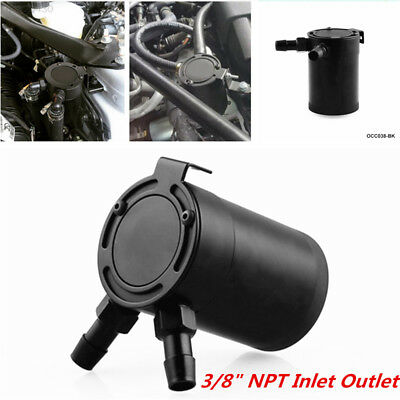 72BB Air-Oil Separator Kit Car Built-In Filter Screen Oil Tank Can Eco-Friendly