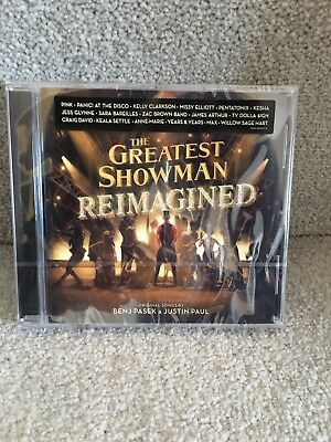 The Greatest Showman Reimagined New Sealed Cd