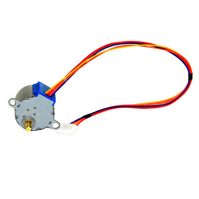 DC 5V 4 Phase 5 Wires Step Motor Valve Gear Stepper Motor Dia 27mm