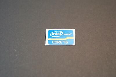 Details to Intel inside Core i5 Sticker Blue 7x Pieces Pcs Sticker Label