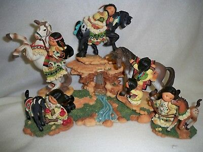Enesco Friends of the Feather - 2000 Taming the Wind Series
