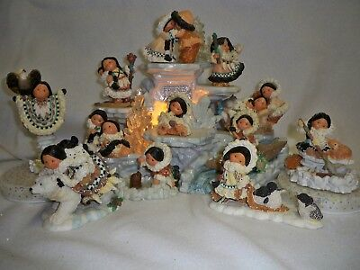 Enesco Friends of the Feather - Season of Giving and Winter Series Set
