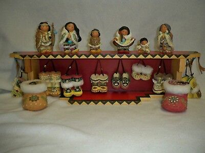 Enesco Friends of the Feather - 1999 Walk in the Footsteps Set