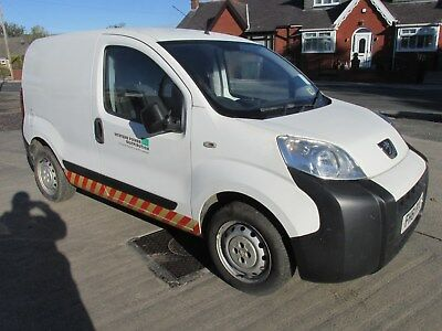 2012 Peugeot Bippa 1.3 Cdti Van,non Recorded Salvage Spares Or Repairs,only 99K