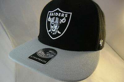 ff70e9af76c10 ... best price oakland raiders nfl ball cap strapback by 47 brand vgc ships  4779c 3ecf9