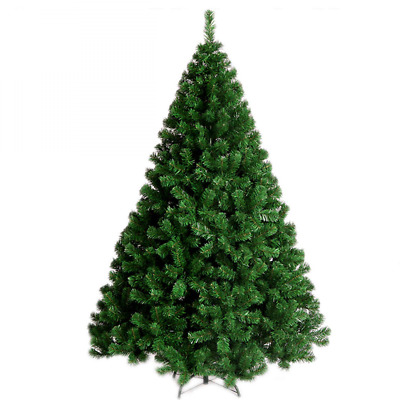 6FT 900Tips Premium Hinged Artificial Christmas Pine Tree 4-7FT Easy NEW USA