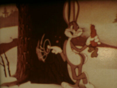 "Super 8mm color sound 1x200'' ""BUGS BUNNY MORT OU VIF"" Dubbed in French"