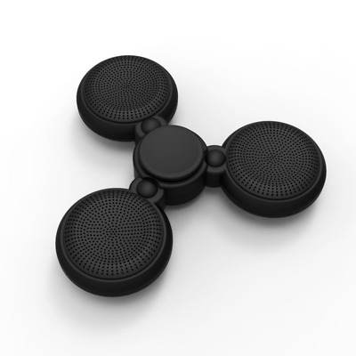 Fidget Spinner Bluetooth Speaker with Hands-Free Calls Microphone NEW USA