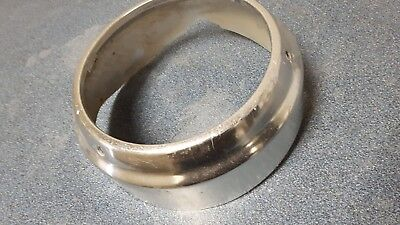 1960 impala belair biscayne headlight trim ring bezel outter right