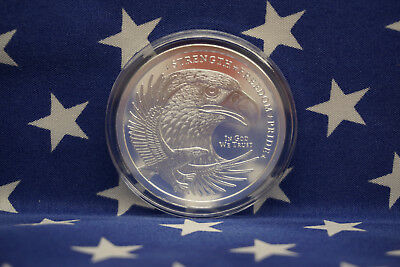 GSM Eagle Strength Freedom Pride Uncirculated 1oz Troy .999 Solid Silver Coin