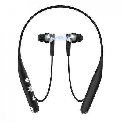 Bluetooth Headphones, Wireless Headset, Stereo Noise Cancelling Earbuds NEW USA
