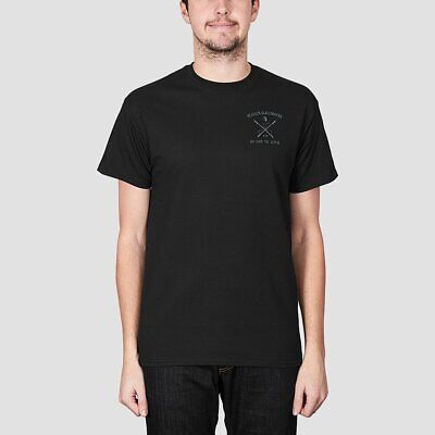Heathen White Whale Tee Black/Metal