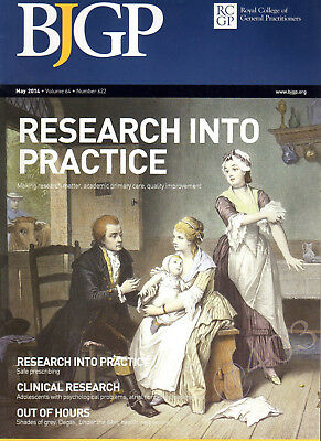 British Journal of GENERAL PRACTICE BJGP RCGP May 2014 -  RESEARCH into PRACTICE