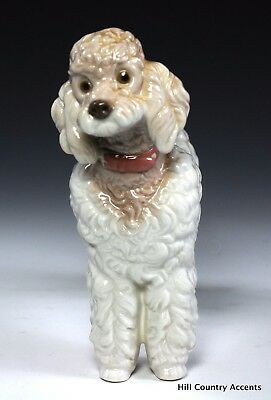 """Lladro Poodle """"wooly Dog"""" #1259 - Standing - $465 Value - Free Shipping - *mint*"""