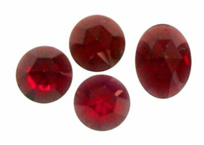 Natural Extra Fine Red Garnet - Round & Oval Rose Cut Cabochon - Mozambique - AA