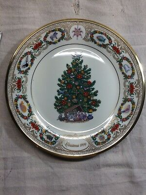 Lenox Plate Annual Limited Ed. Christmas Tree Around the World Mexico 1999