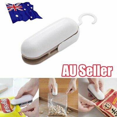 Chip Bag Resealer Portable Mini Package Air Tight Re Sealer Snack Seal Heat ON