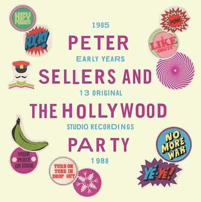 Peter Sellers And The Hollywood Party Early Years 1985-1988 Lp + Cd Italy Import