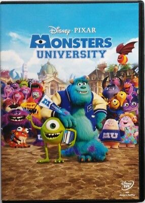 Dvd Monstres University - Disney Pixar 2013 Usagé