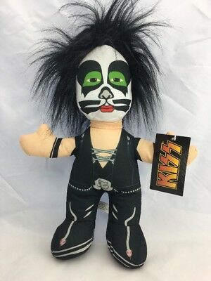 "NWT KISS ""PETER CHRISS"" PLUSH DOLL. 2014. Bensons. Scarce!!"