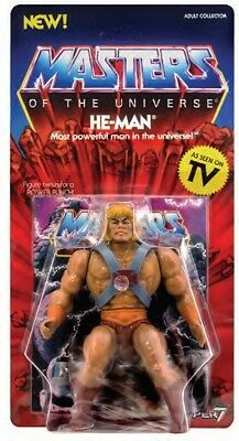 Auspacker - Motu Masters Of The Universe Vintage Collection He-Man / Super 7