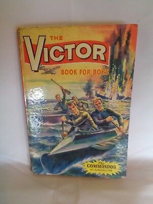 The Victor Book for Boys 1965 Annual Commandos at Singapore